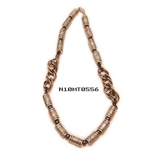 Beaded Necklace wz Chain